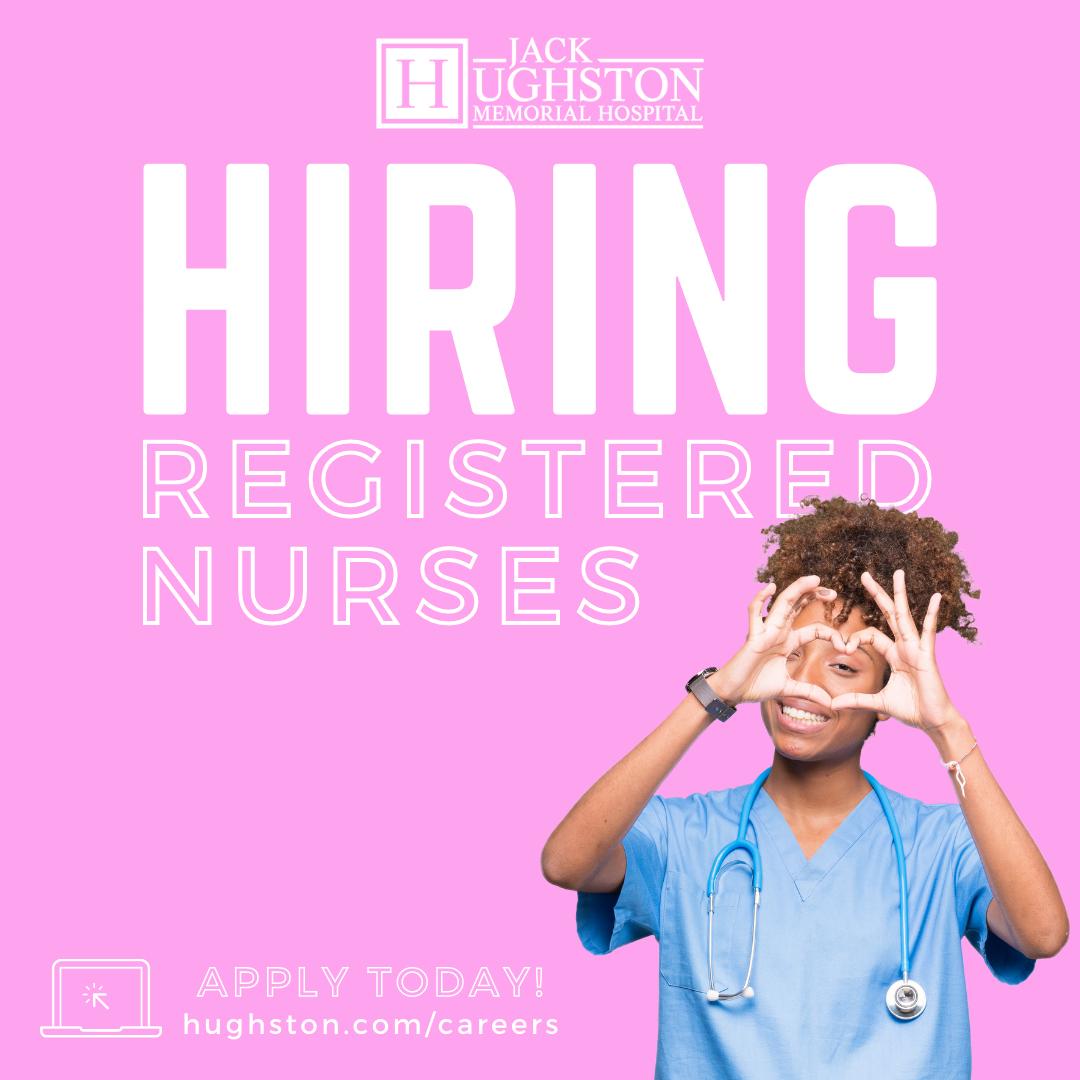Job Spotlight | Registered Nurse with Jack Hughston Memorial Hospital