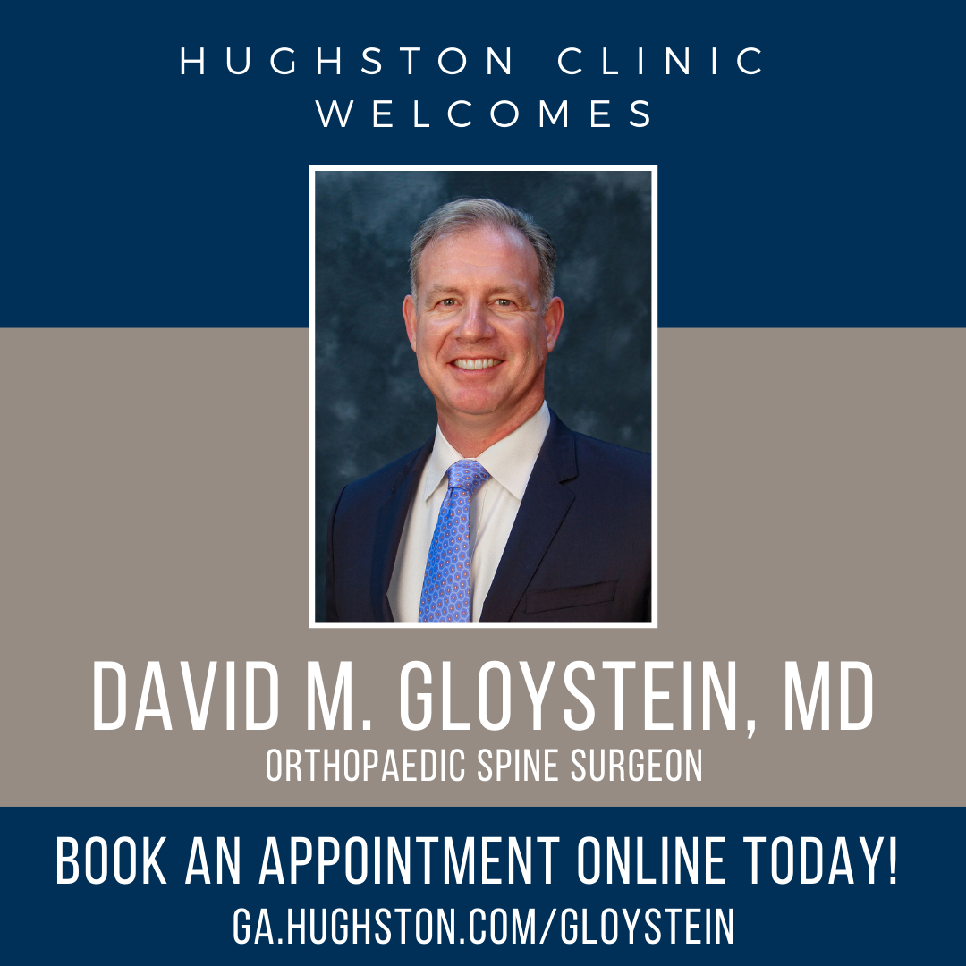 Hughston Clinic welcomes David M. Gloystein, MD