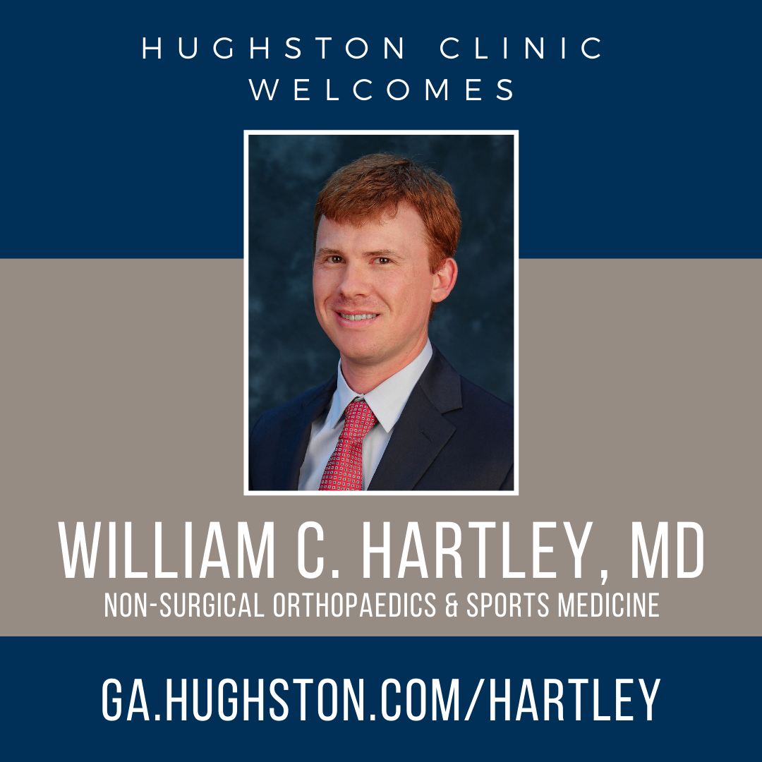 Hughston Clinic welcomes William C. Hartley, MD